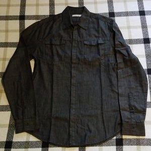 Men's Calvin Klien Jeans l/s button-up shirt